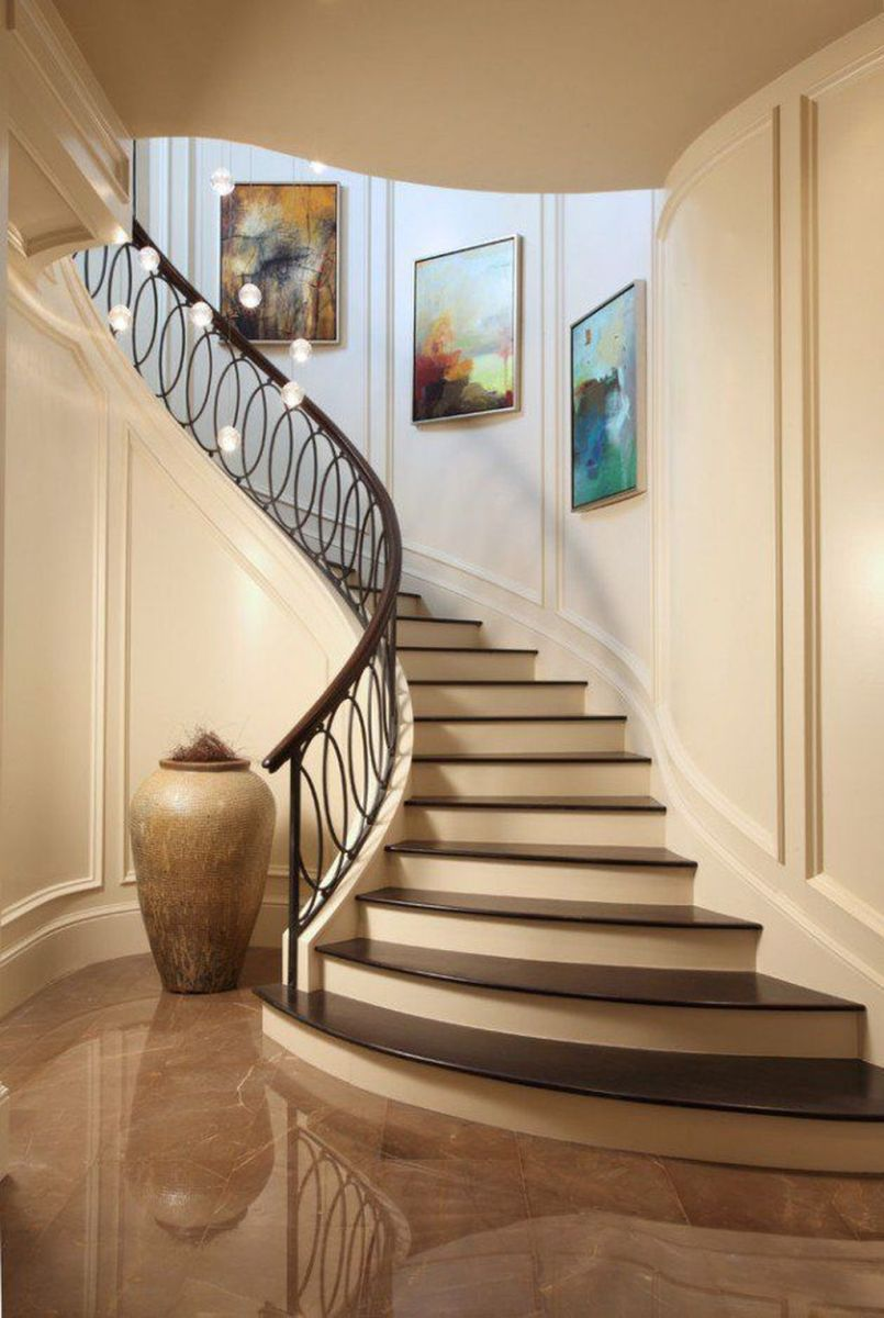 Brilliant Staircase Design Ideas To Beautify Your Interior 03