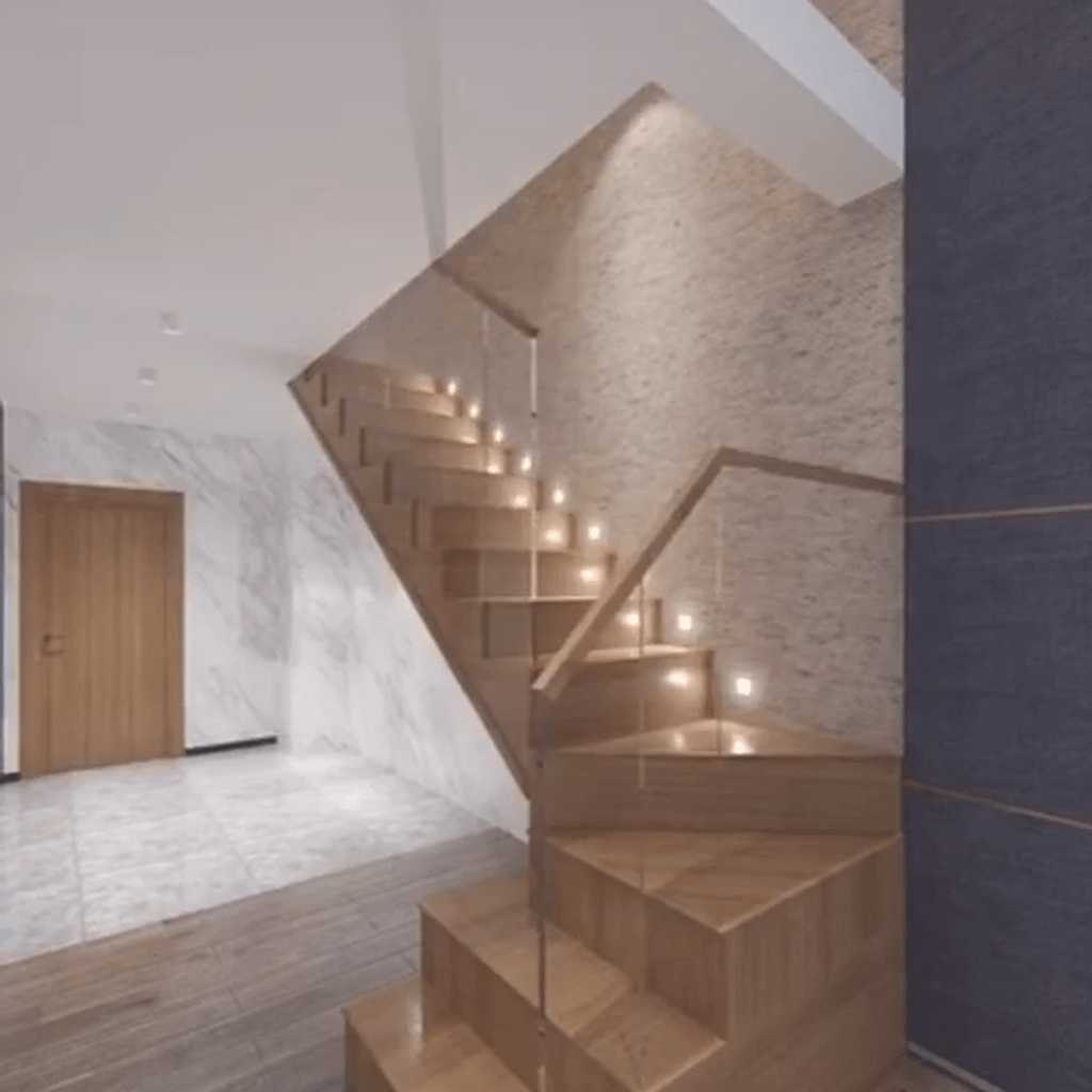 Brilliant Staircase Design Ideas To Beautify Your Interior 13