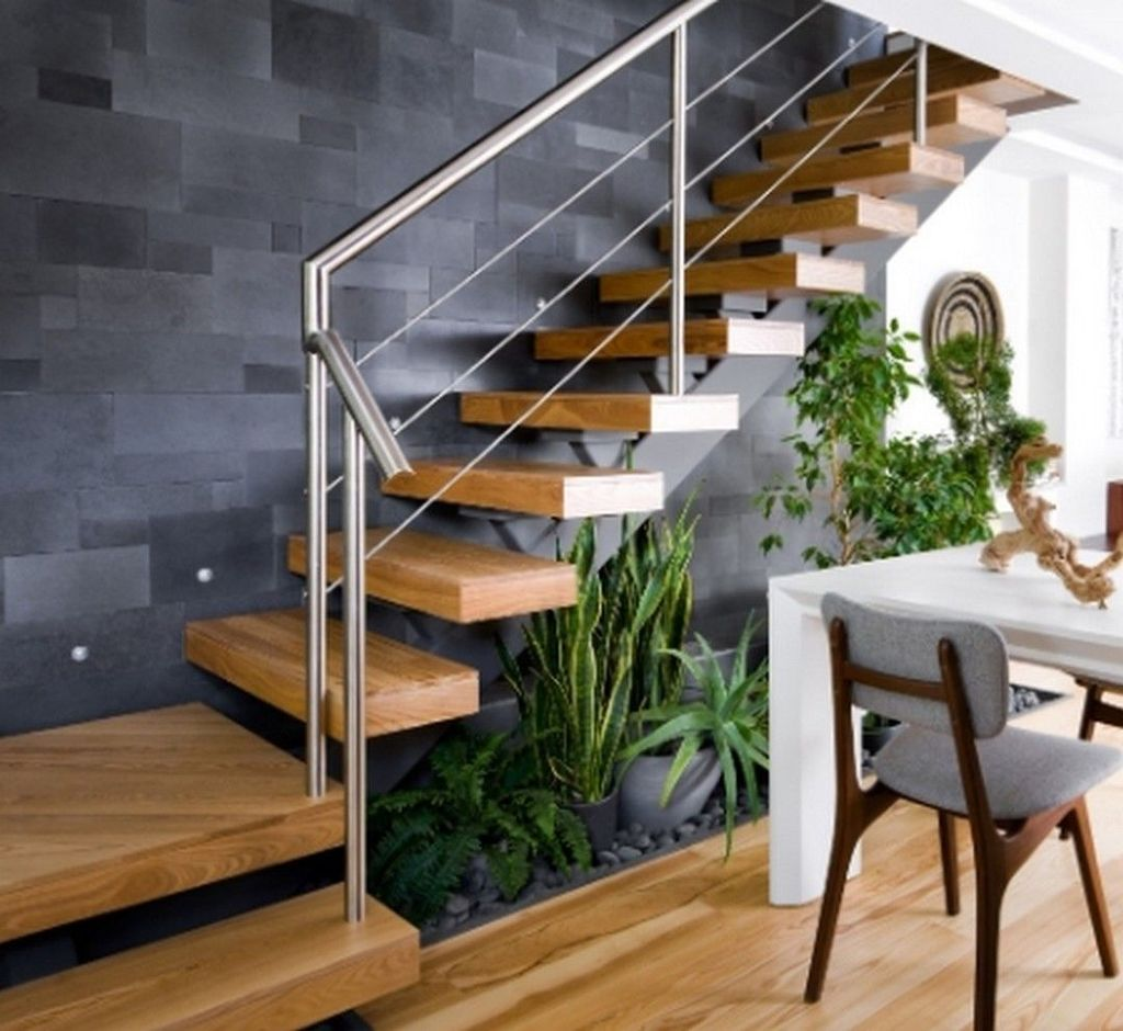 Brilliant Staircase Design Ideas To Beautify Your Interior 15