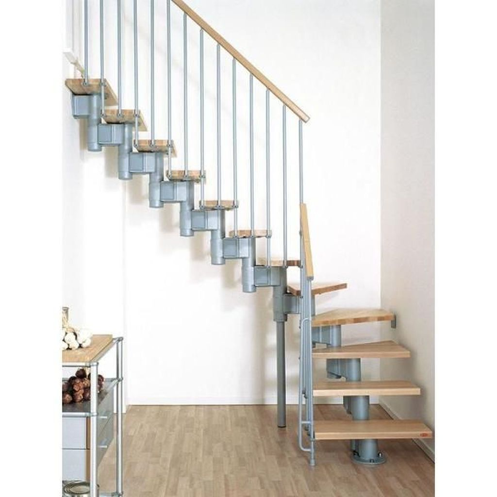 Brilliant Staircase Design Ideas To Beautify Your Interior 17