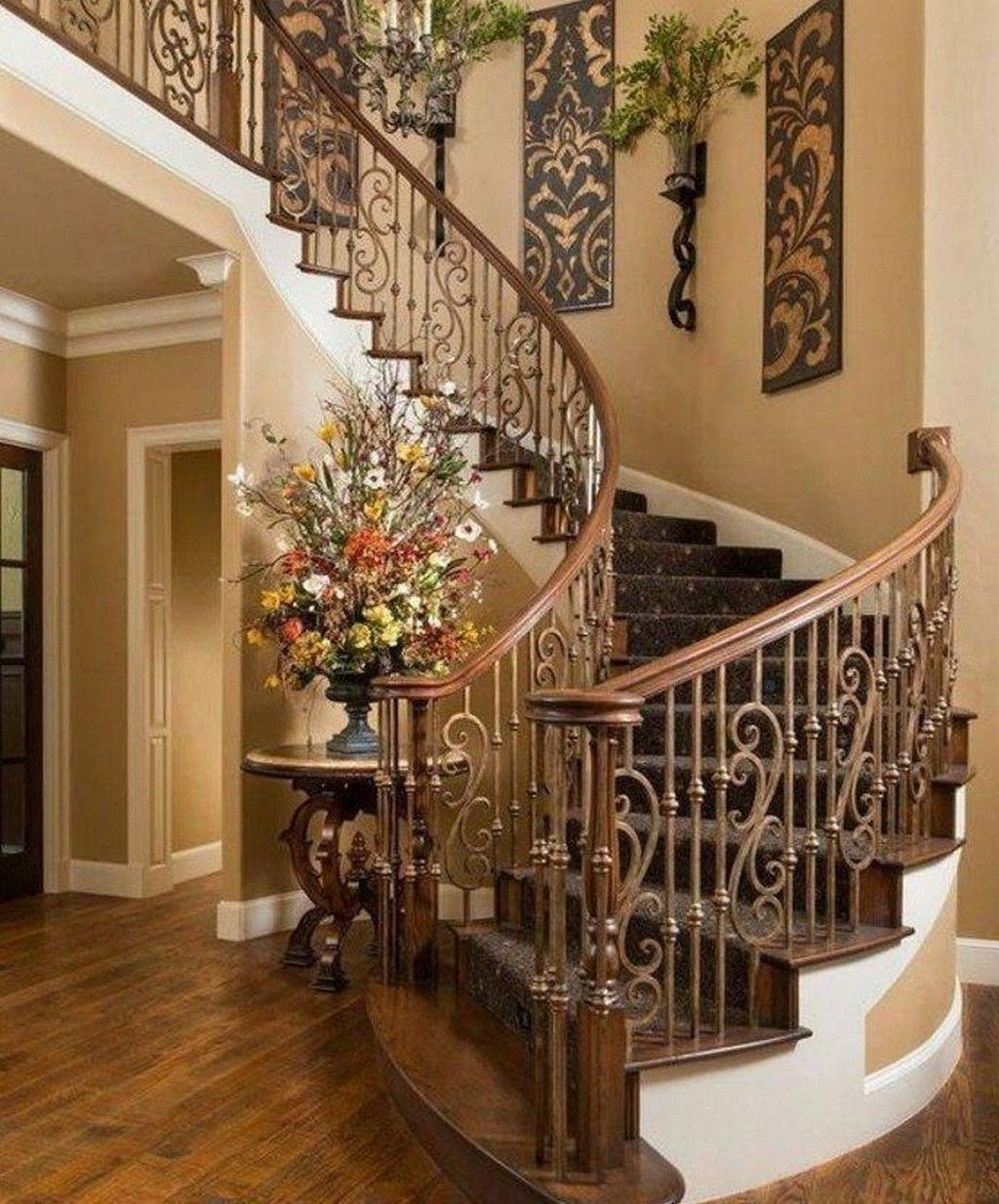 Brilliant Staircase Design Ideas To Beautify Your Interior 32