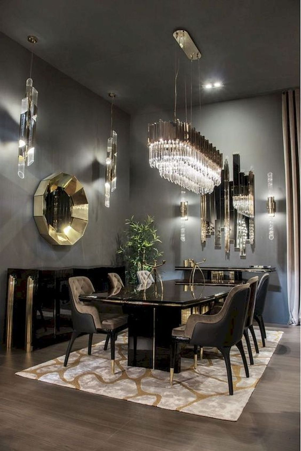 Fabulous Contemporary Dining Room Decorating Ideas 12