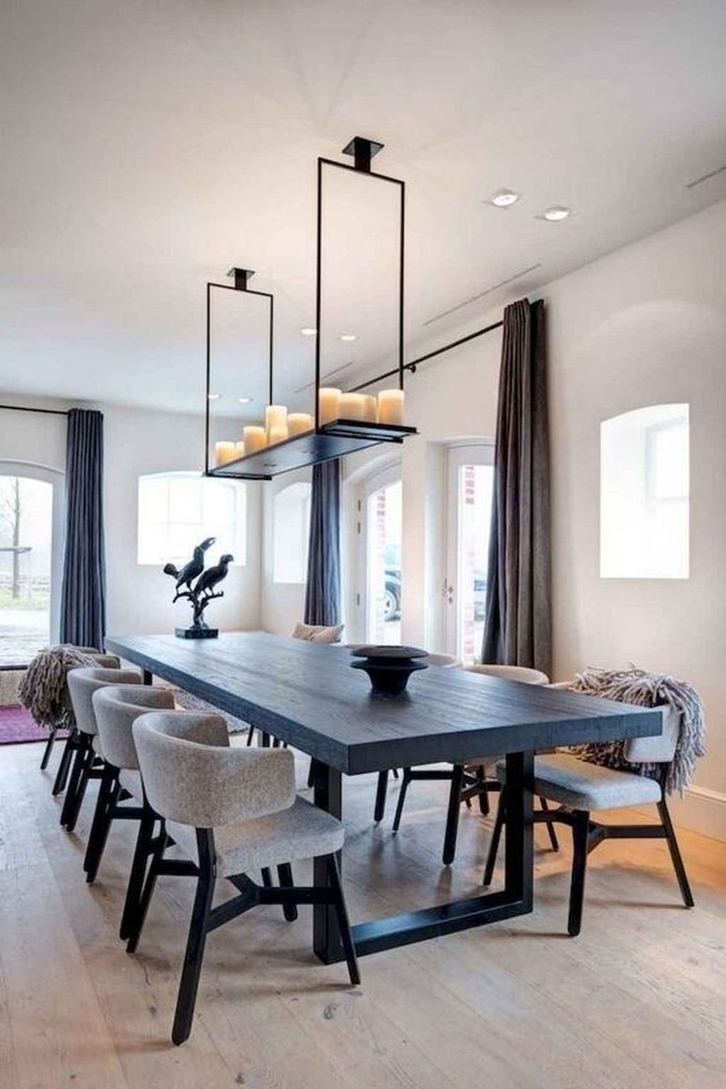 Fabulous Contemporary Dining Room Decorating Ideas 17