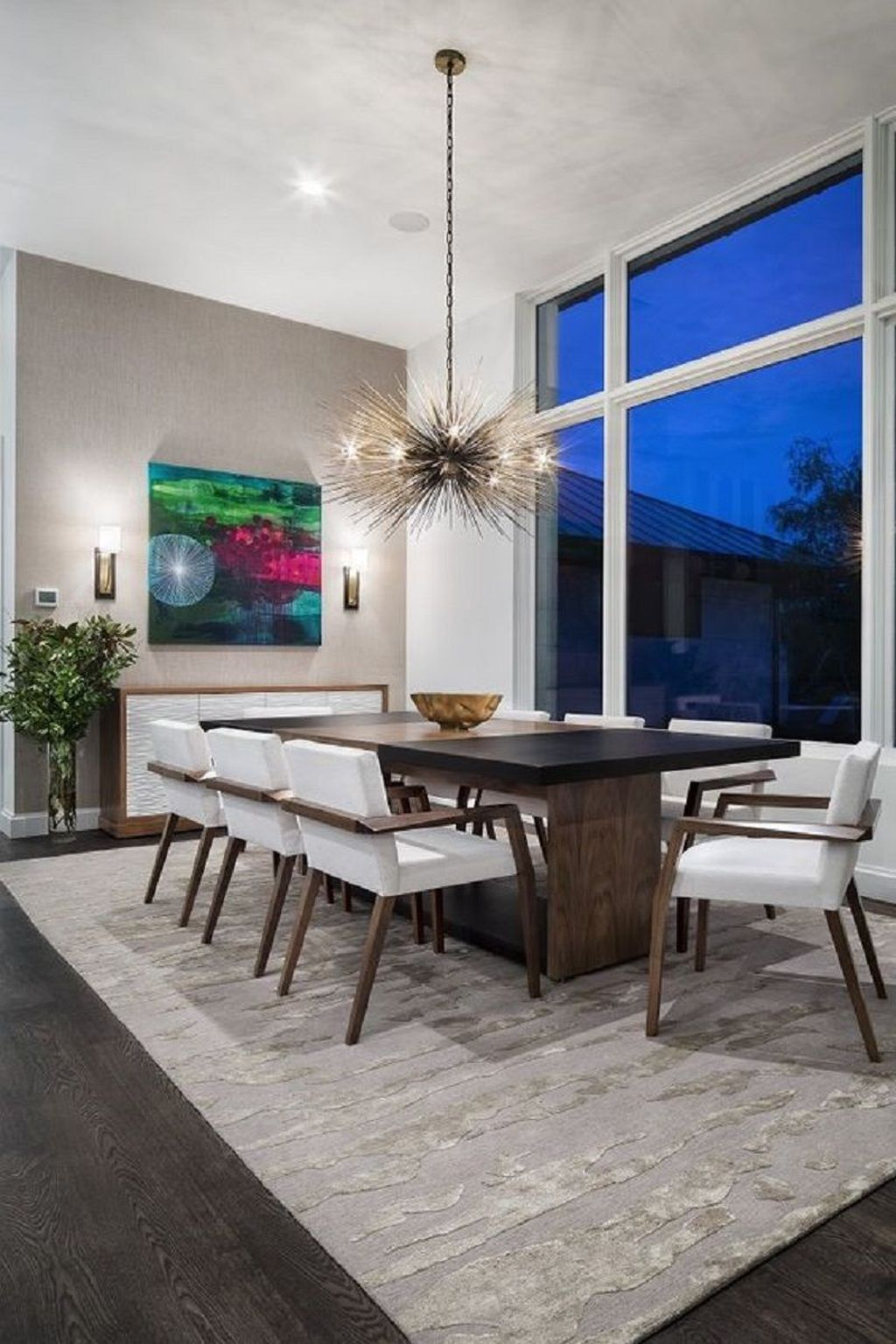 Fabulous Contemporary Dining Room Decorating Ideas 24