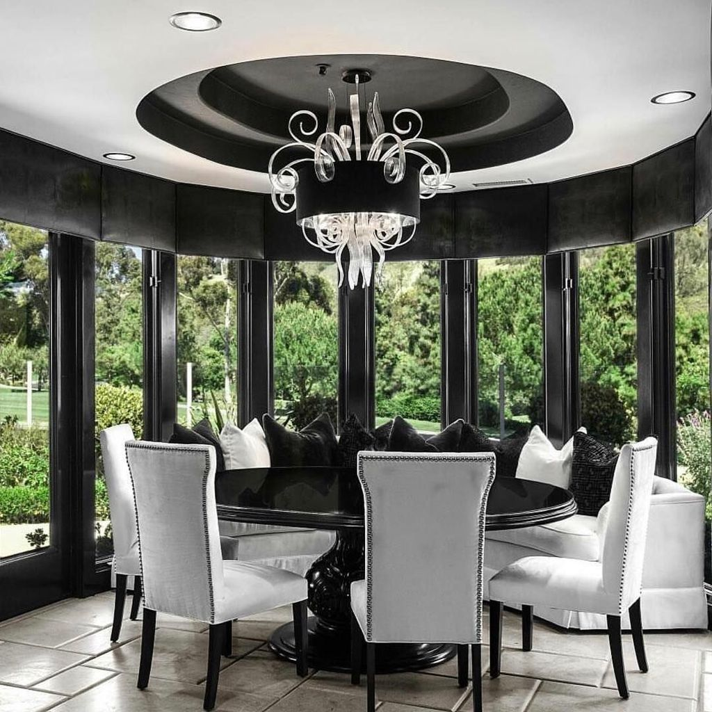 Fabulous Contemporary Dining Room Decorating Ideas 32