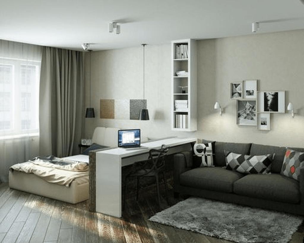 Fabulous Small Apartment Bedroom Design Ideas 05