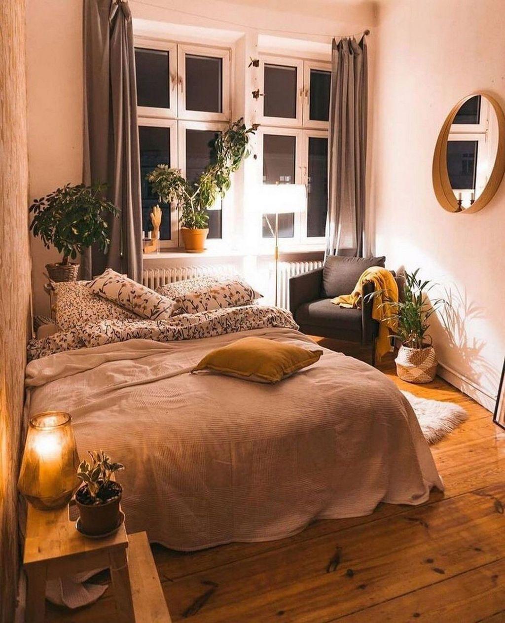 Fabulous Small Apartment Bedroom Design Ideas 24