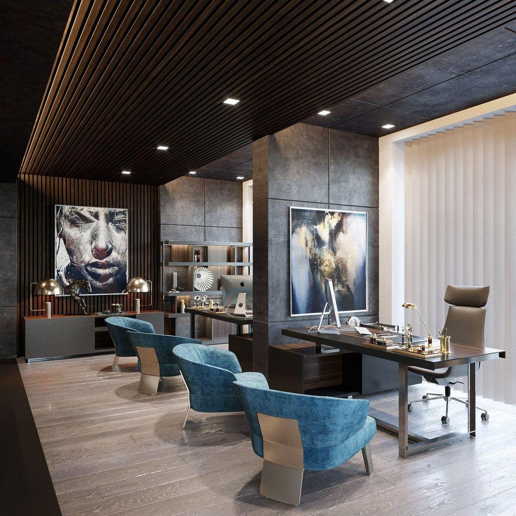 Gorgeous Modern Office Interior Design Ideas You Never Seen Before 11