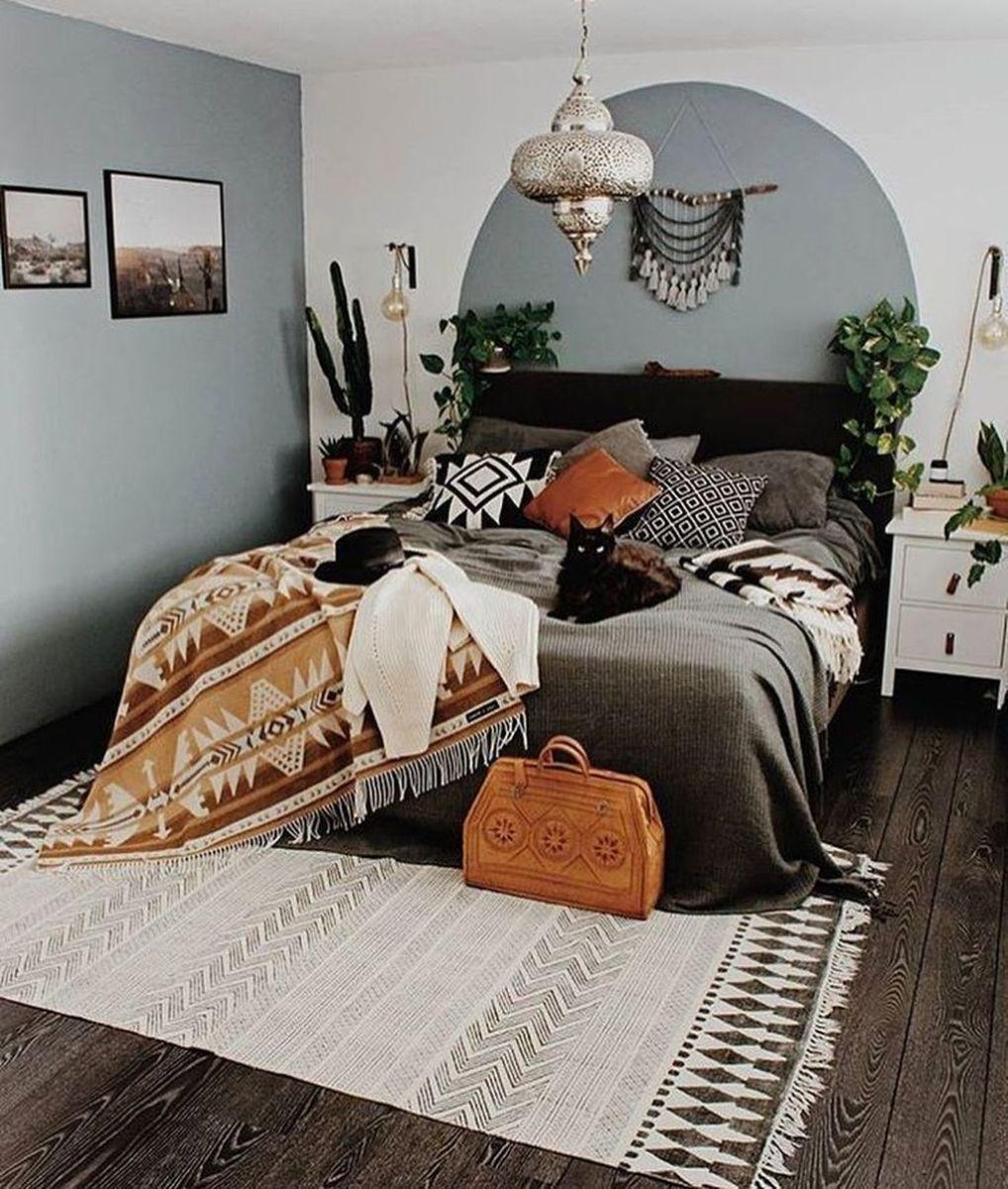 Lovely Boho Chic Bedroom Decor Idea 02