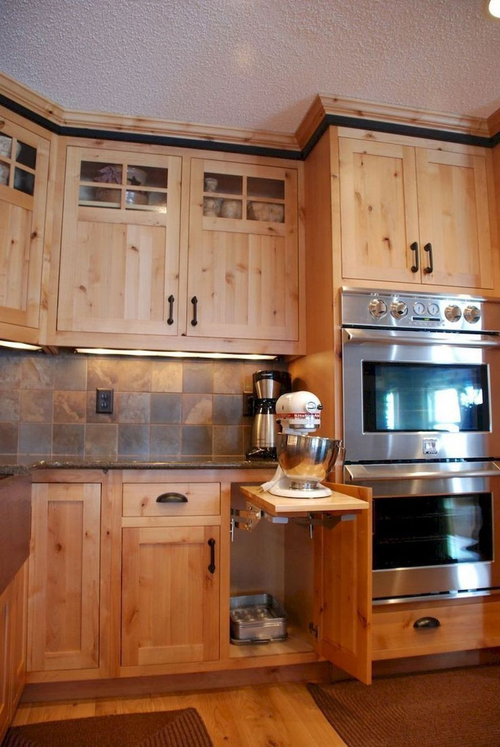Nice Rustic Farmhouse Kitchen Cabinets Design Ideas 09