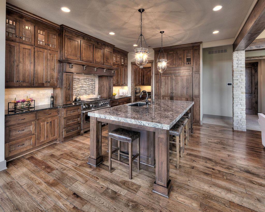 Nice Rustic Farmhouse Kitchen Cabinets Design Ideas 10