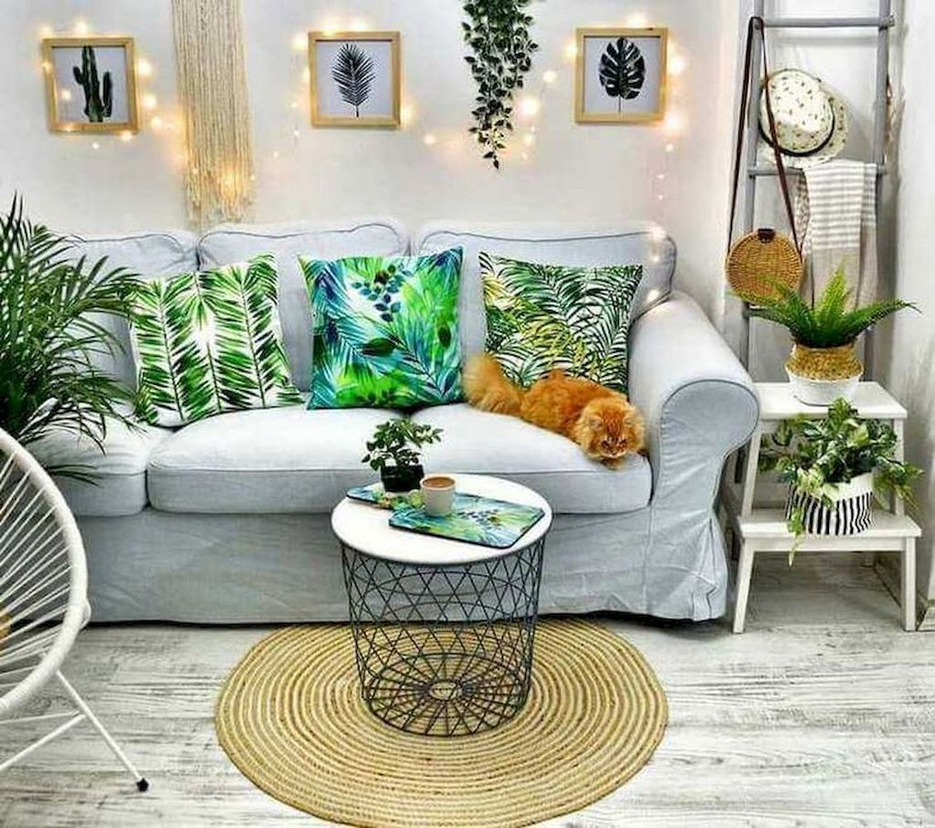The Best Rustic Bohemian Living Room Decor Ideas 03