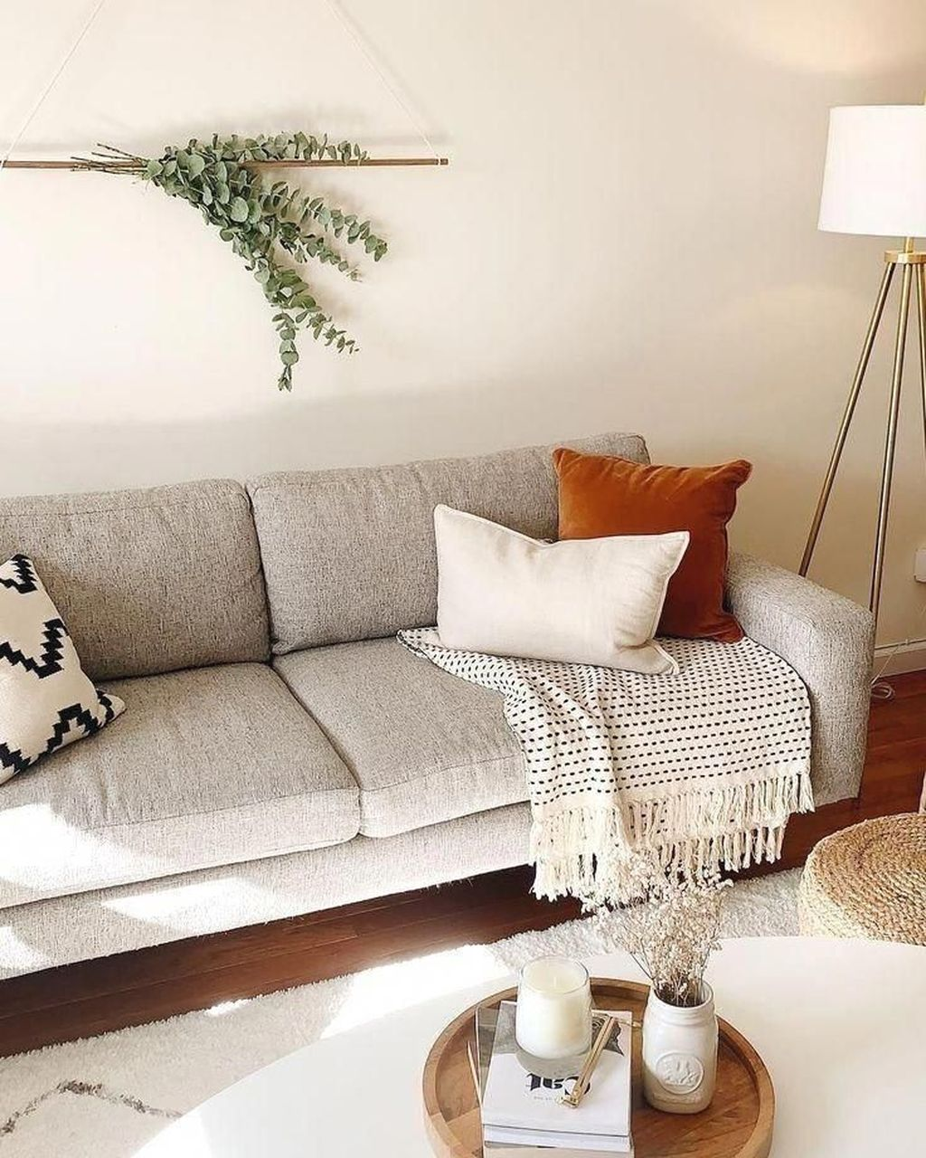 The Best Rustic Bohemian Living Room Decor Ideas 33