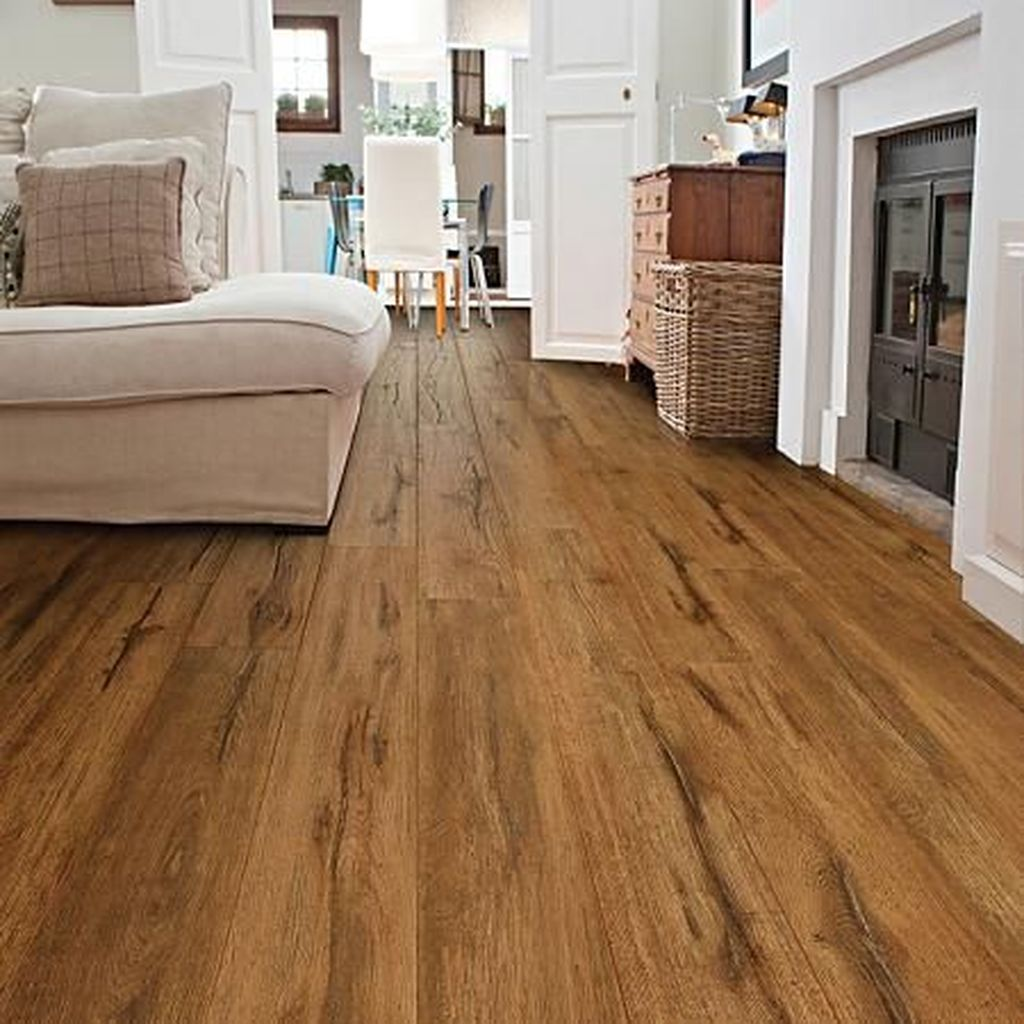 Amazing Bamboo Flooring Ideas For Living Room 17