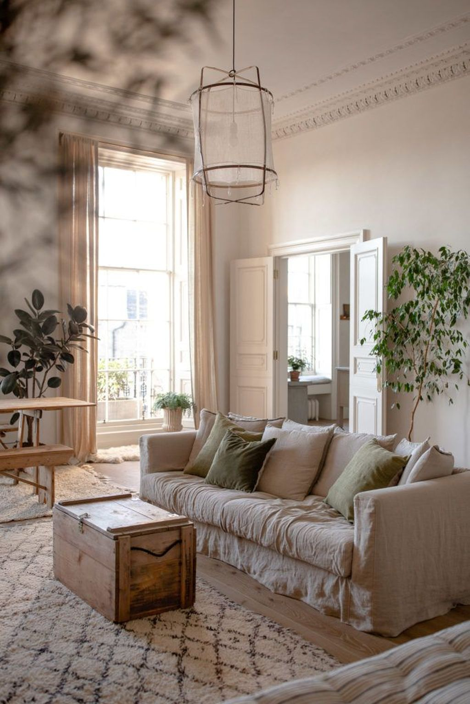 Best Neutral Living Room Decor Ideas 22