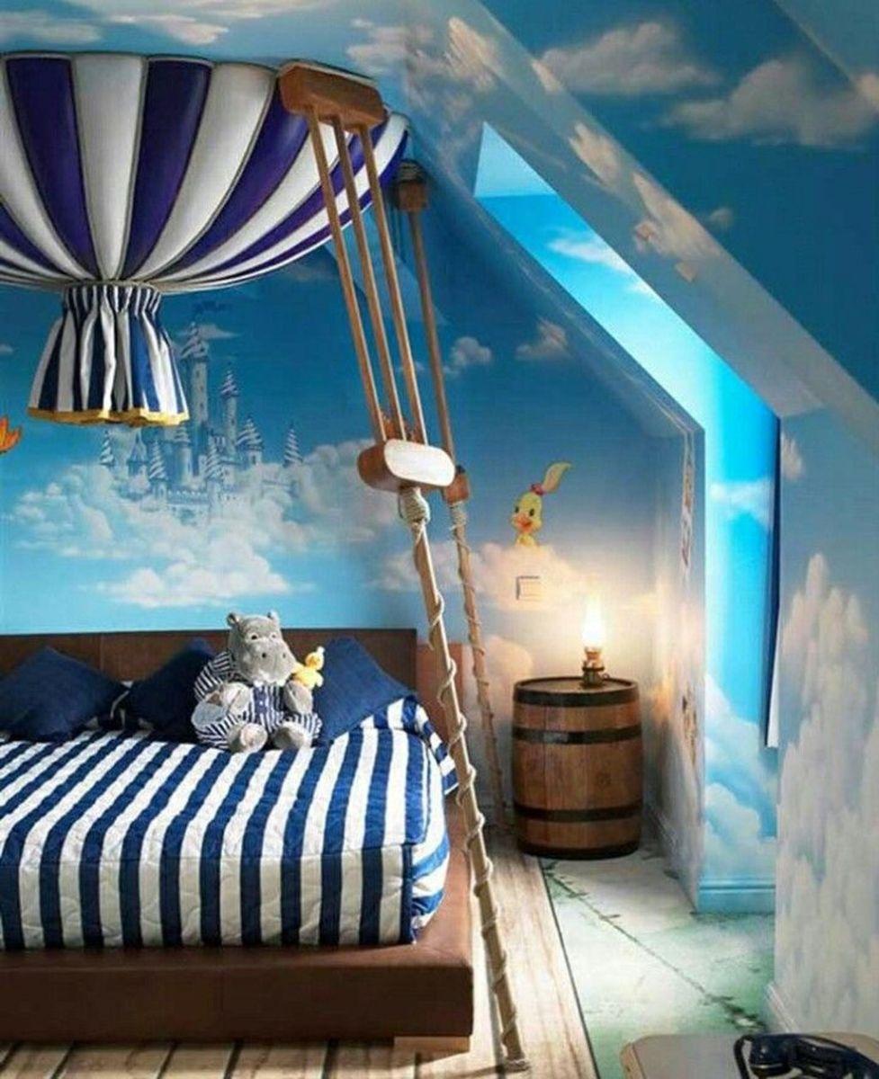 Fabulous Sky Bedroom Theme Decoration Ideas 03