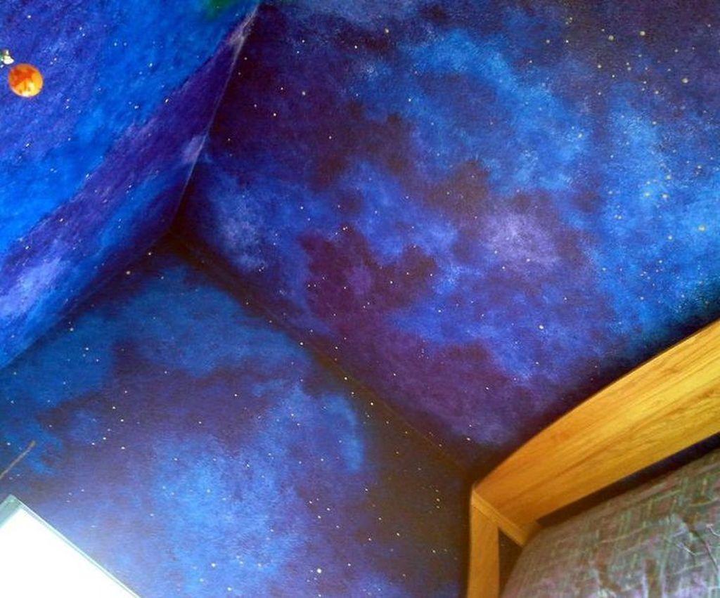 Fabulous Sky Bedroom Theme Decoration Ideas 27