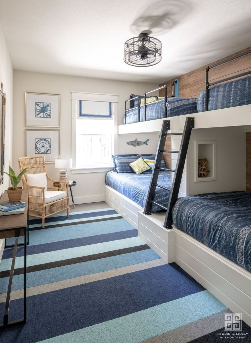 Fascinating Bunk Beds Design Ideas For Small Room 16