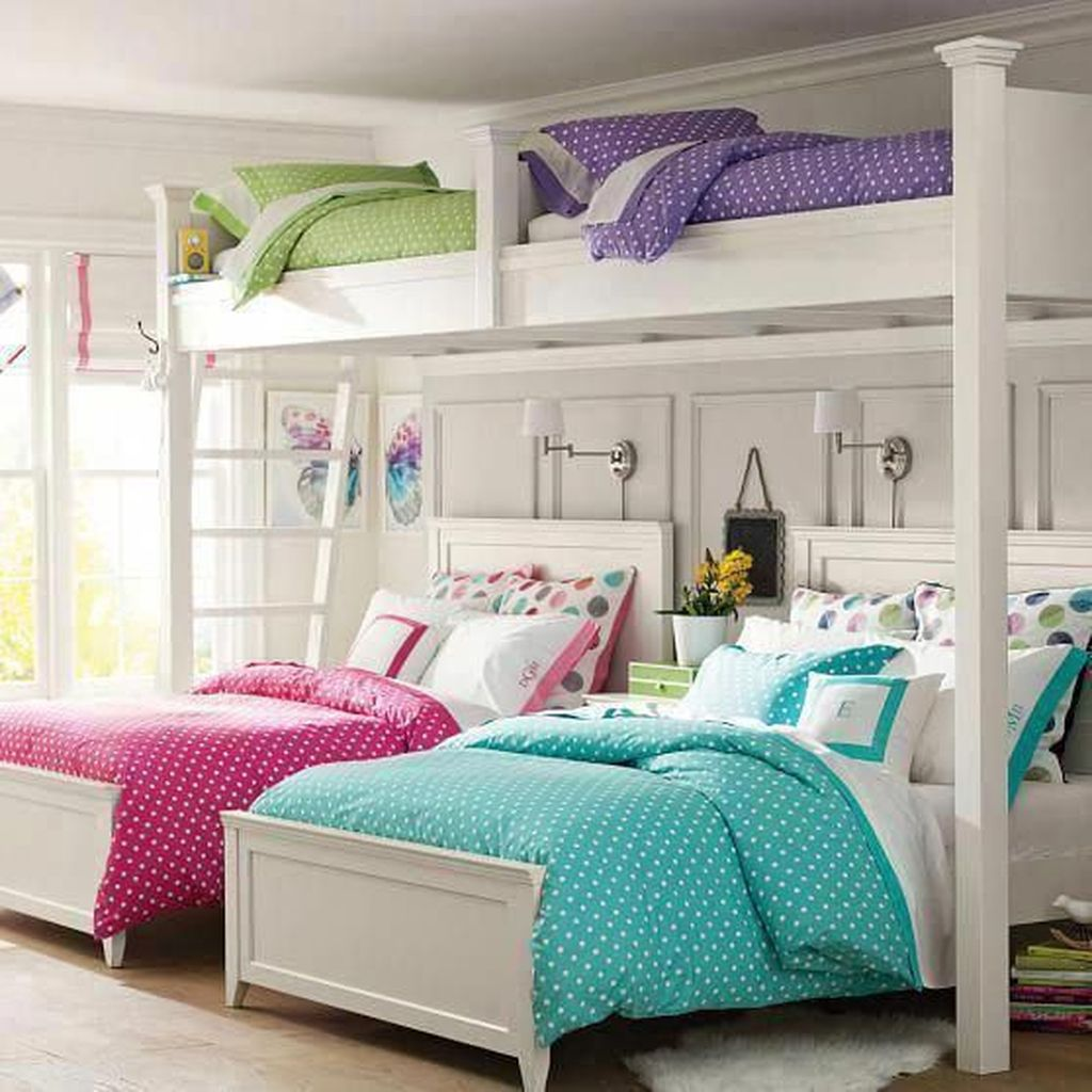 Fascinating Bunk Beds Design Ideas For Small Room 20