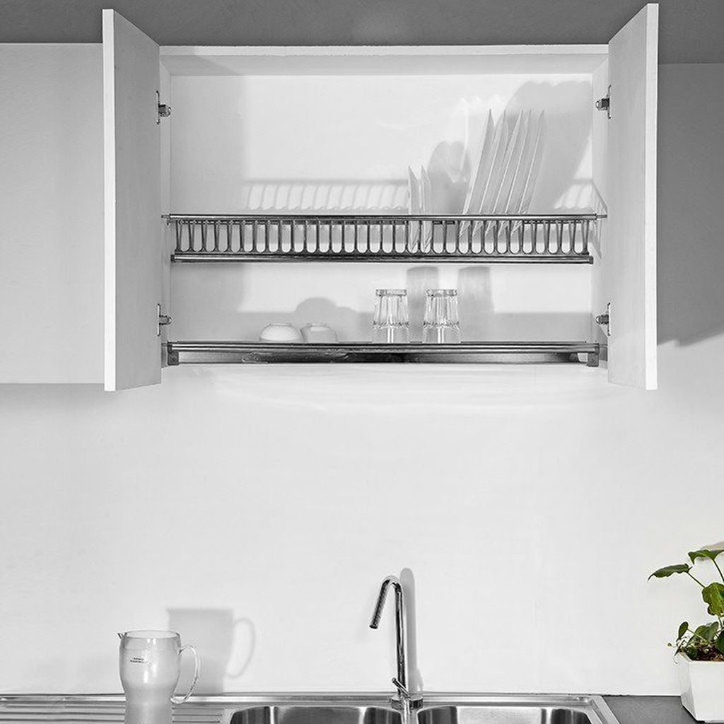Inspiring Dish Rack Ideas For Your Kitchen 13