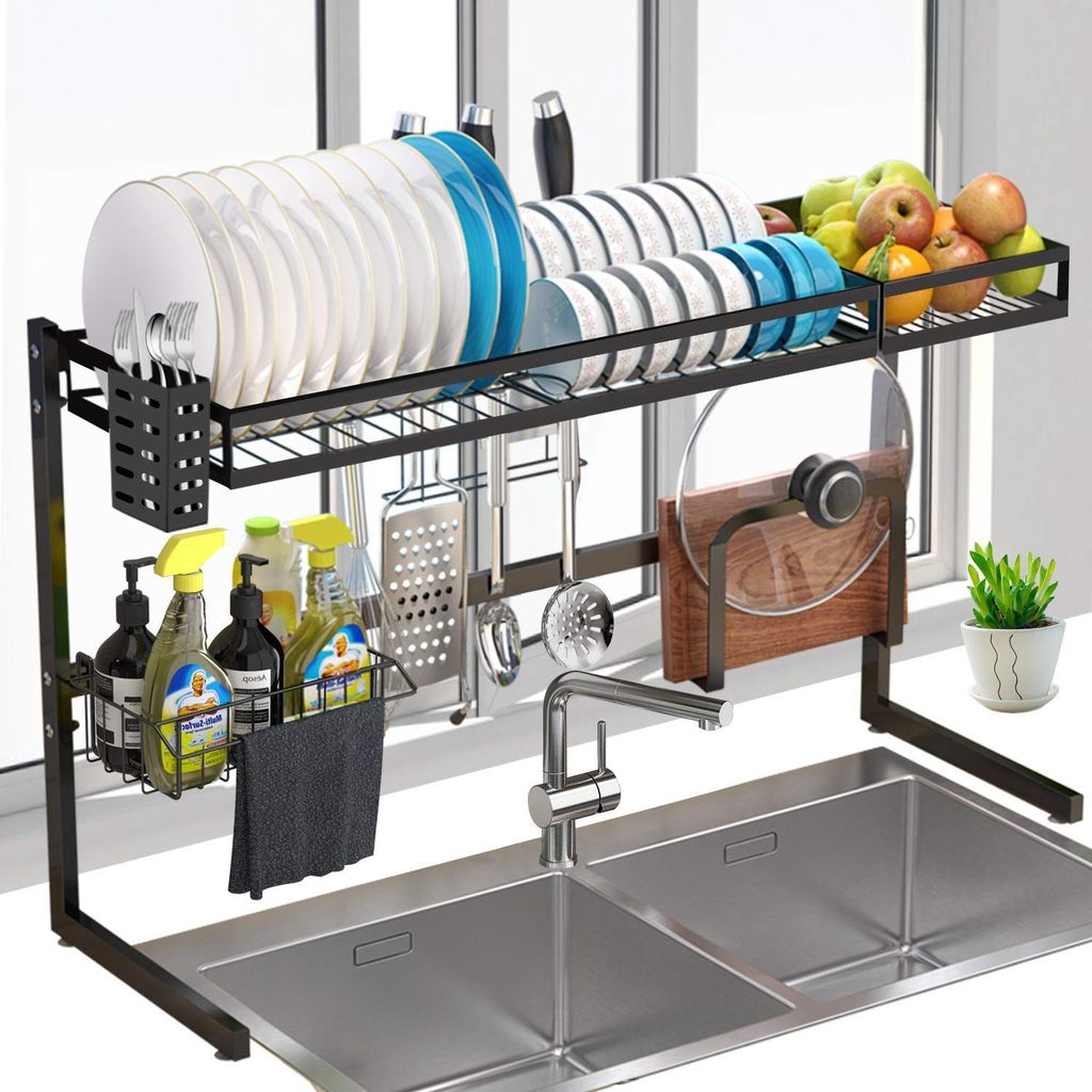 Inspiring Dish Rack Ideas For Your Kitchen 21