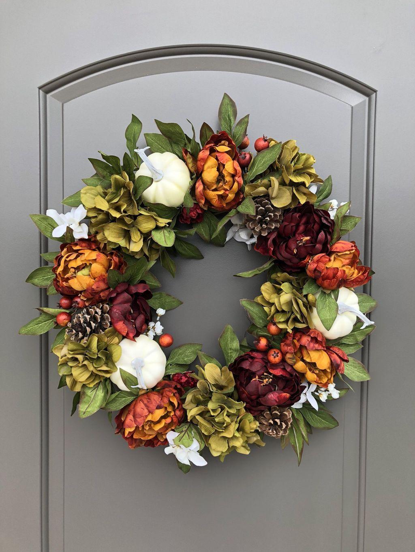 Inspiring Thanksgiving Front Door Decor Ideas 01