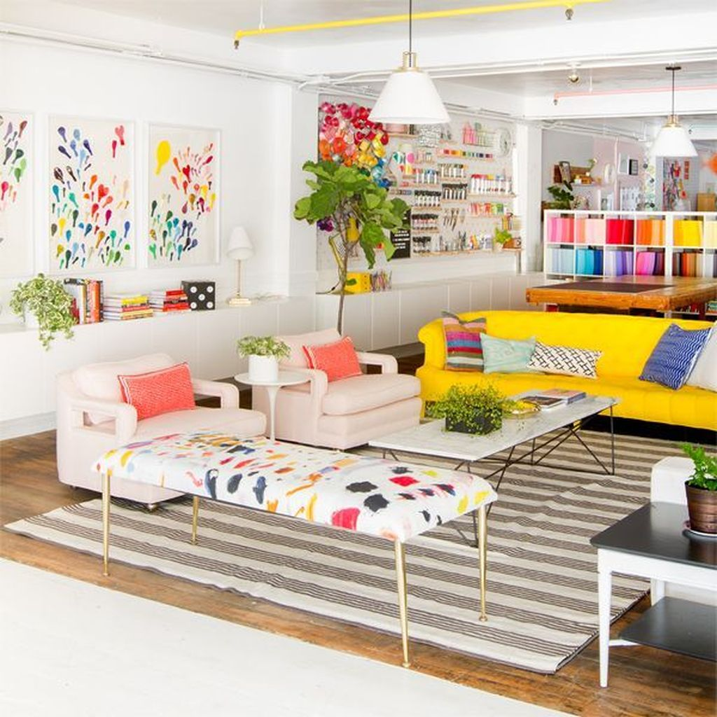 Lovely Colorful Living Room Ideas 01