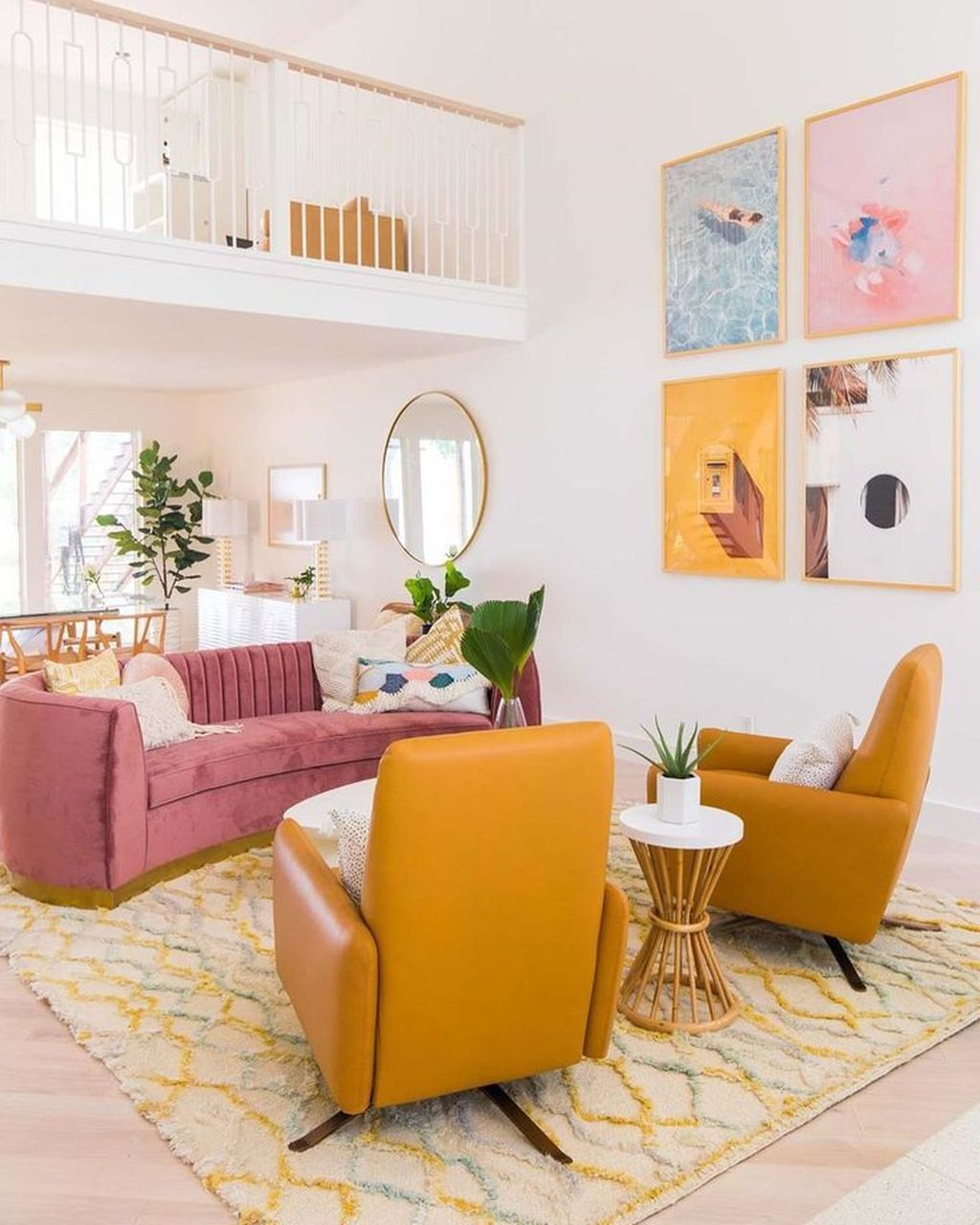 Lovely Colorful Living Room Ideas 09