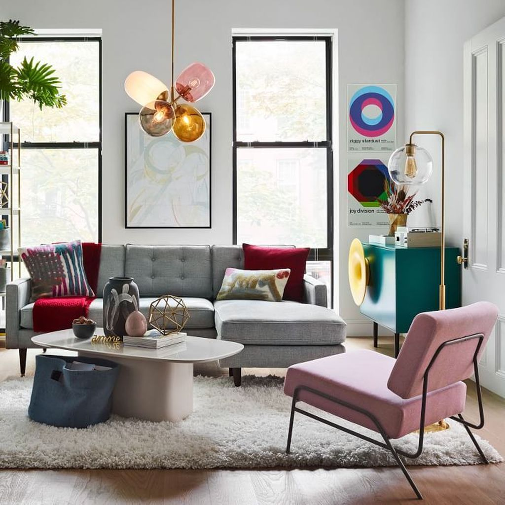 Lovely Colorful Living Room Ideas 30
