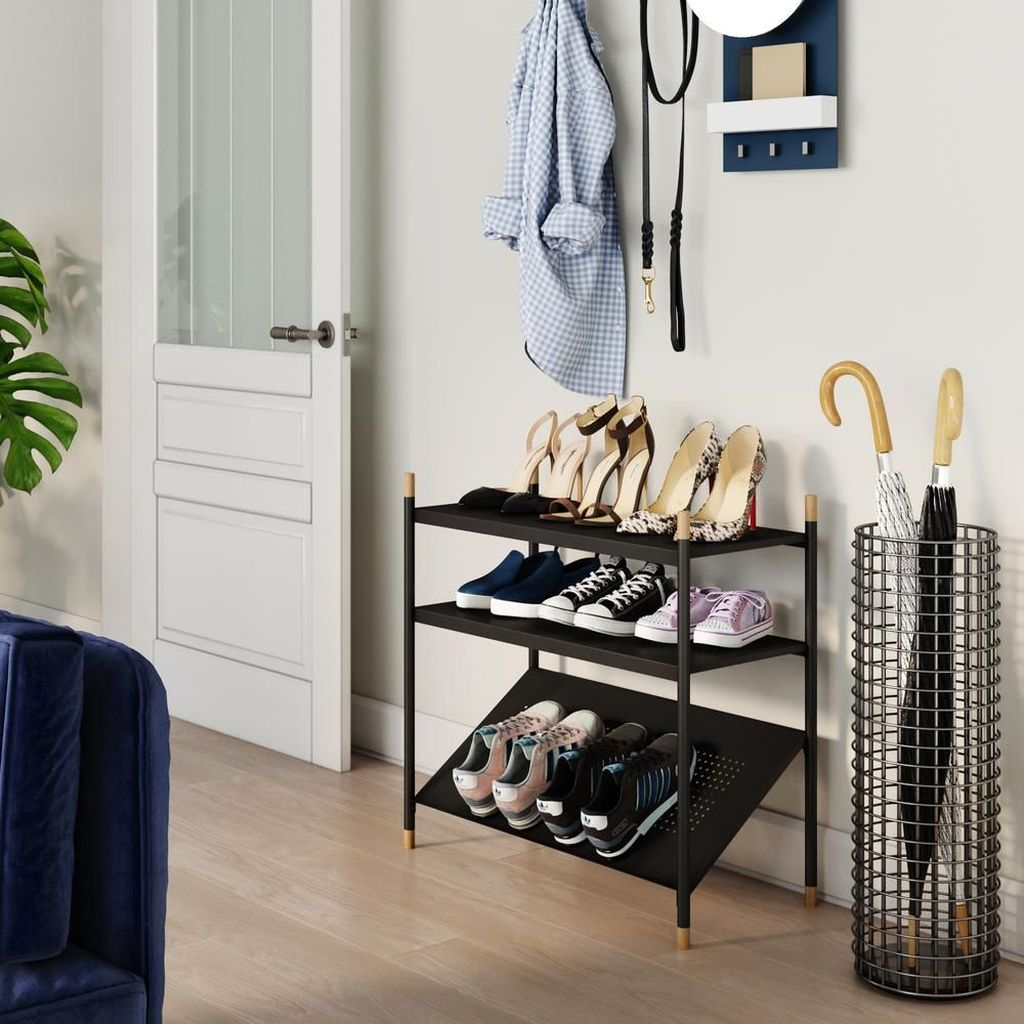 Nice Industrial Shoe Rack Design Ideas 06