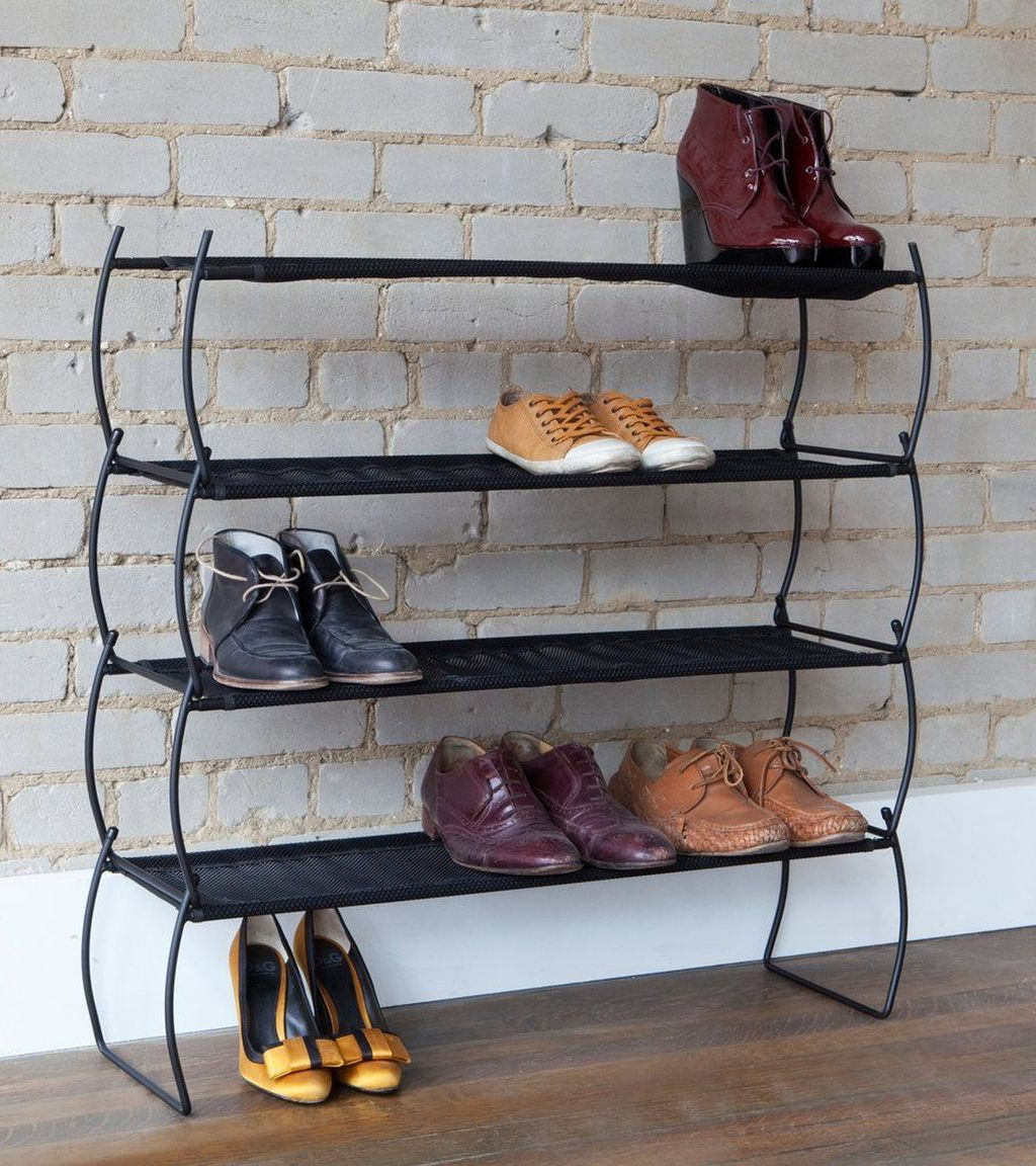 Nice Industrial Shoe Rack Design Ideas 29