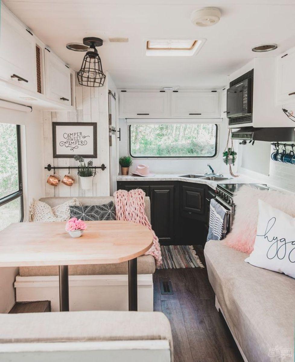 Nice RV Camper Remodel Ideas 07