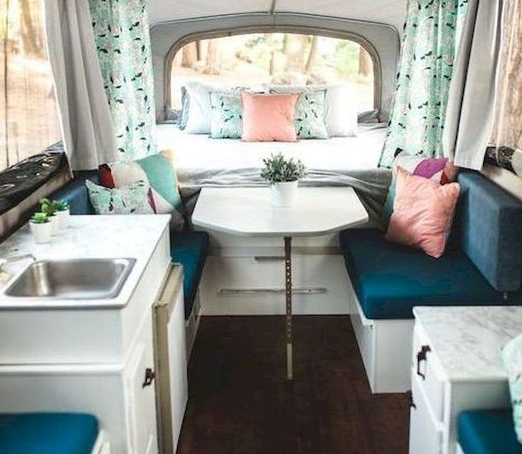 Nice RV Camper Remodel Ideas 08
