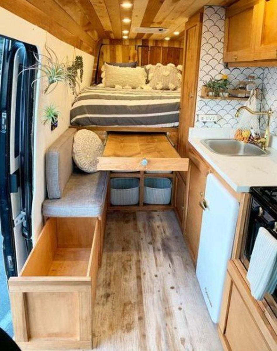 Nice RV Camper Remodel Ideas 11