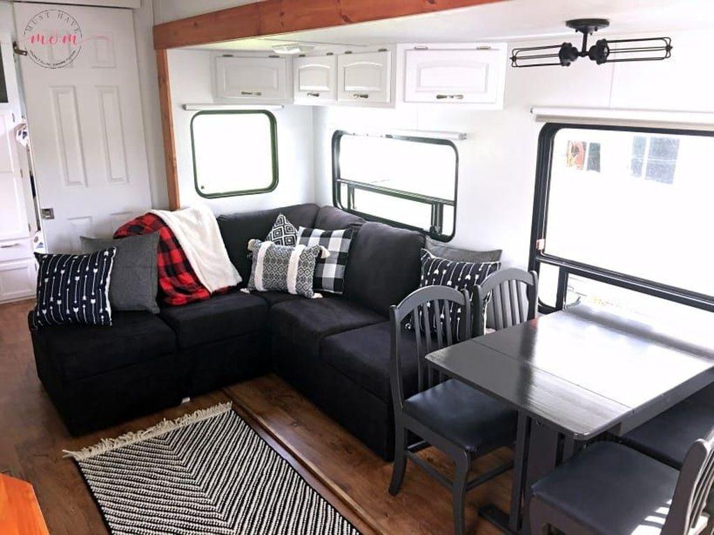 Nice RV Camper Remodel Ideas 17