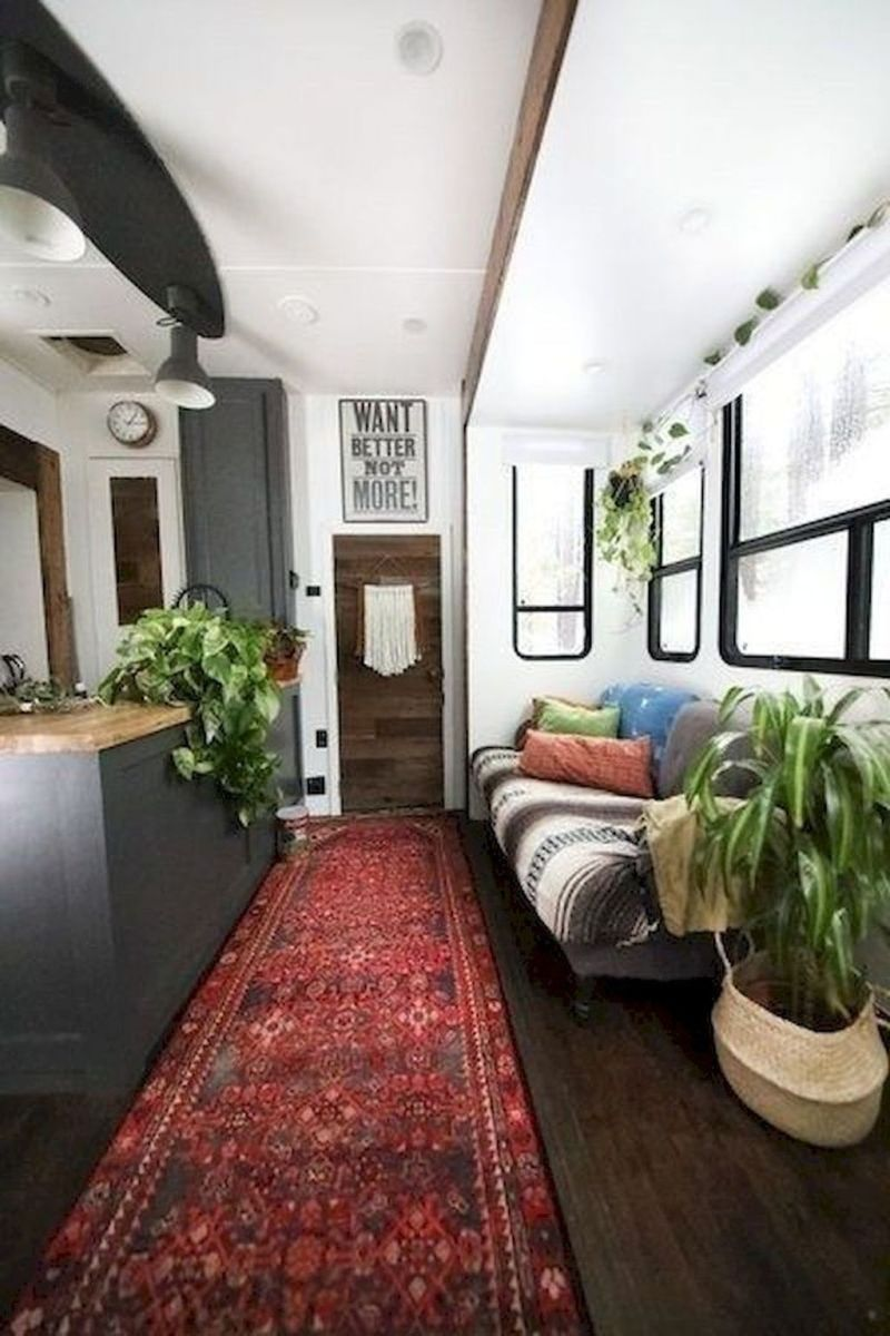 Nice RV Camper Remodel Ideas 22