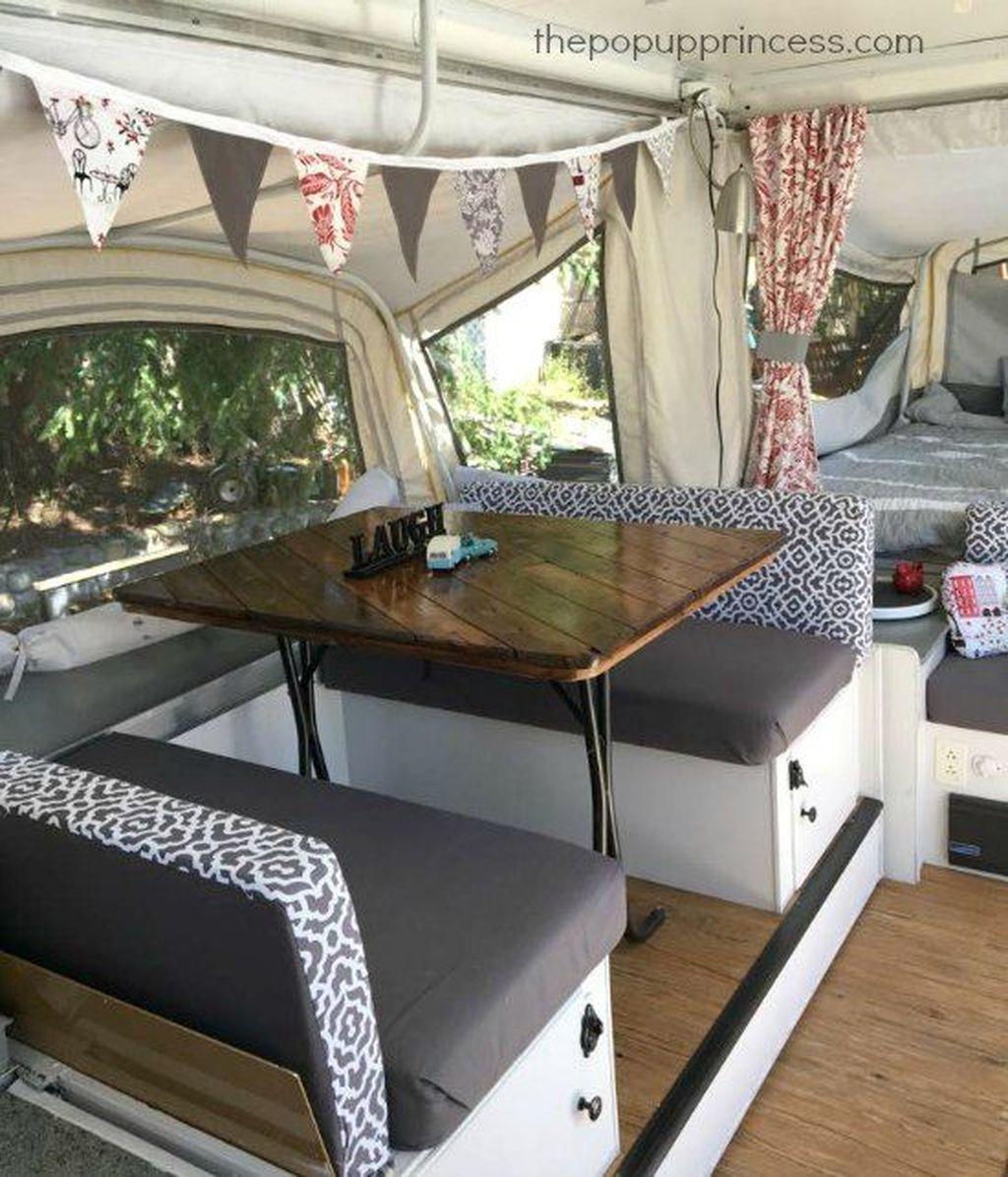 Nice RV Camper Remodel Ideas 31