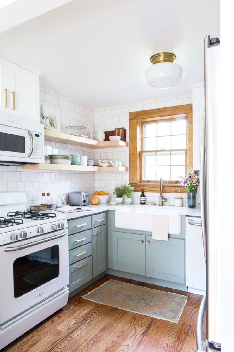 The Best Small Kitchen Design Ideas 11