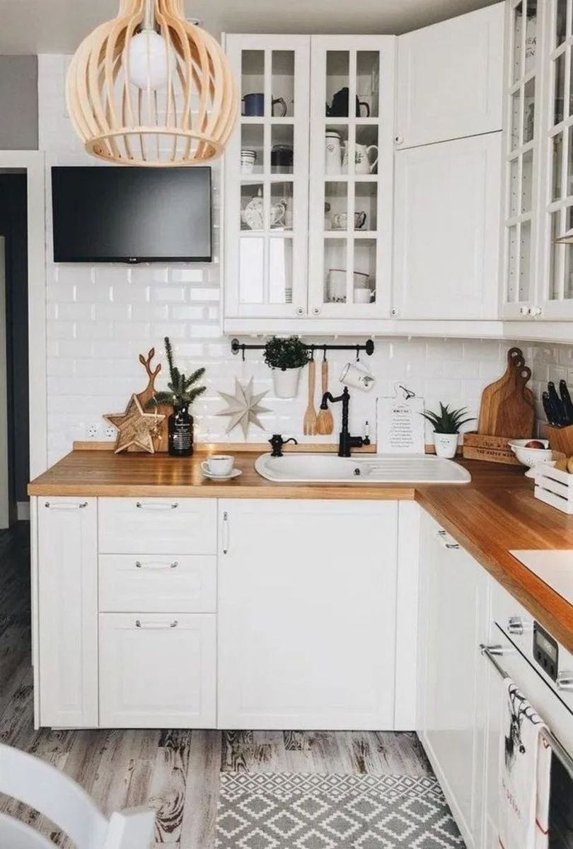 The Best Small Kitchen Design Ideas 26
