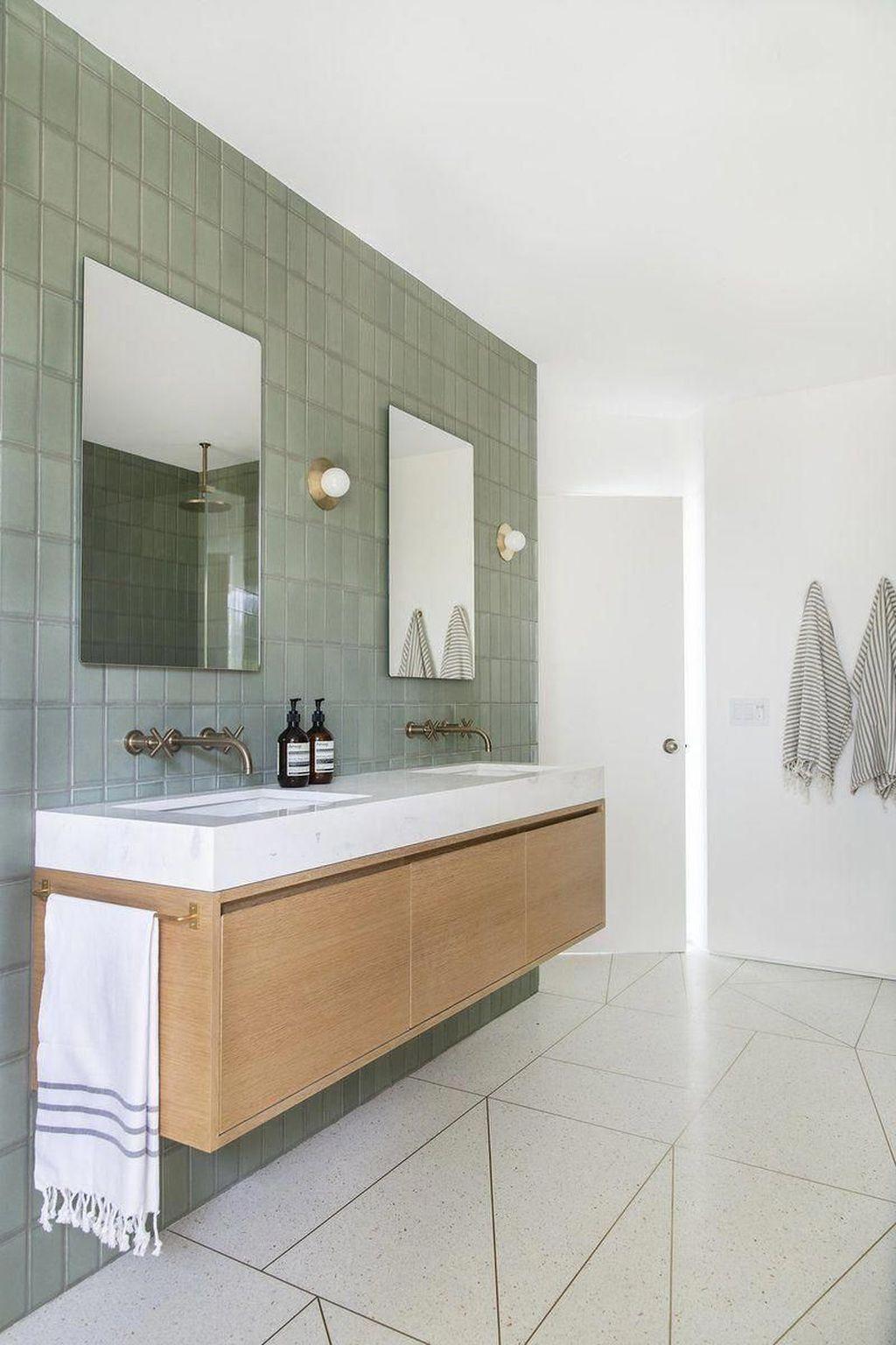 Admirable Rustic Modern Bathroom Design And Decor Ideas 18