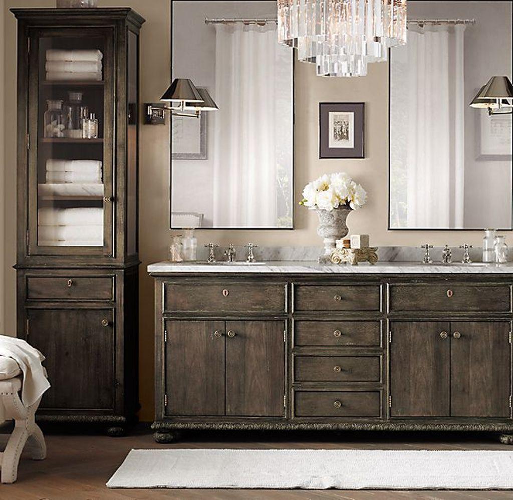 Admirable Rustic Modern Bathroom Design And Decor Ideas 20