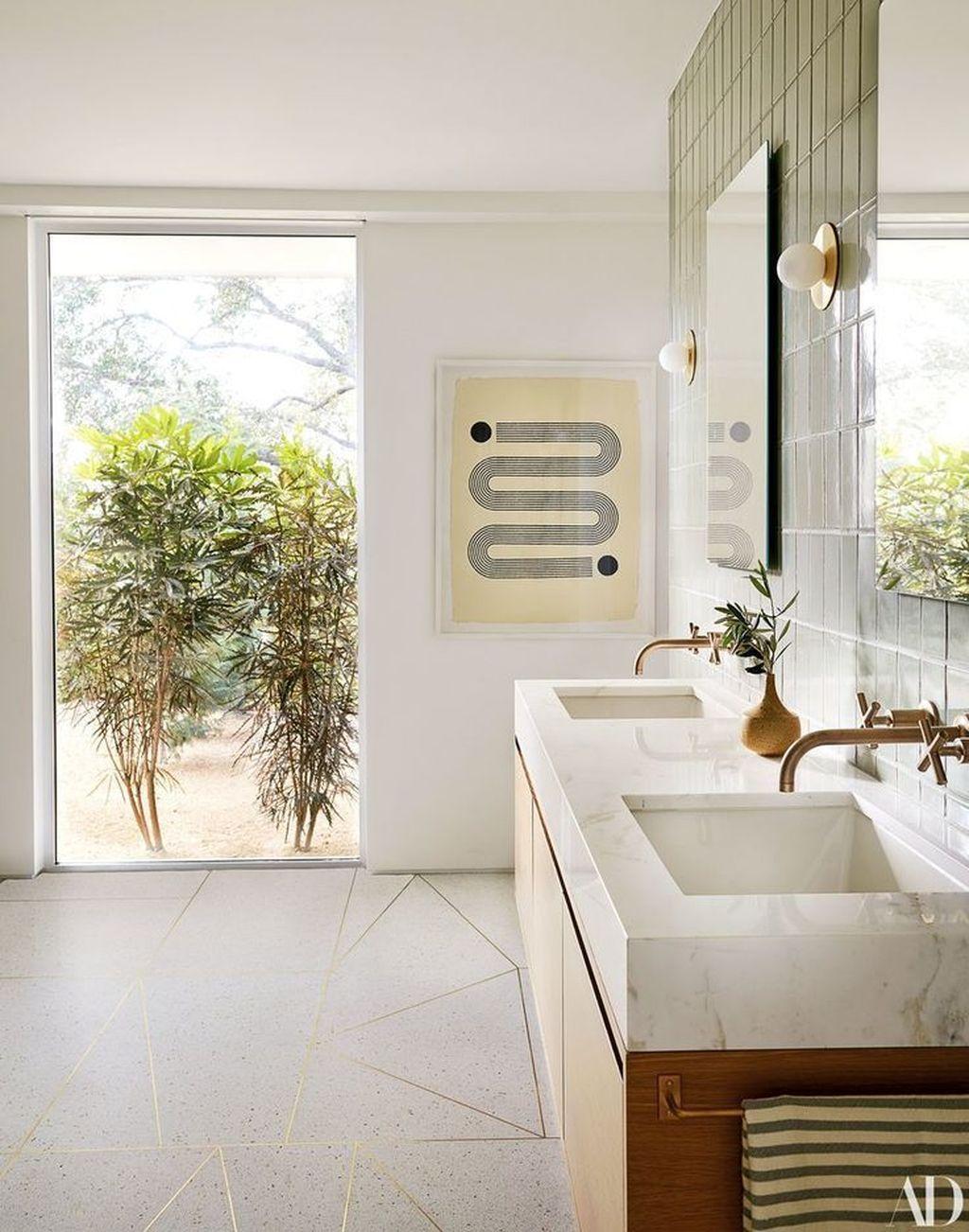 Admirable Rustic Modern Bathroom Design And Decor Ideas 21