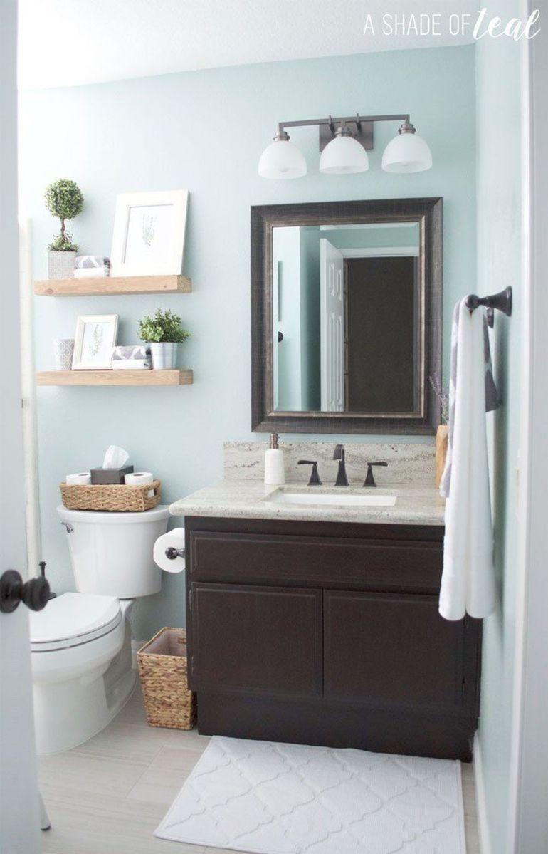 Admirable Rustic Modern Bathroom Design And Decor Ideas 22