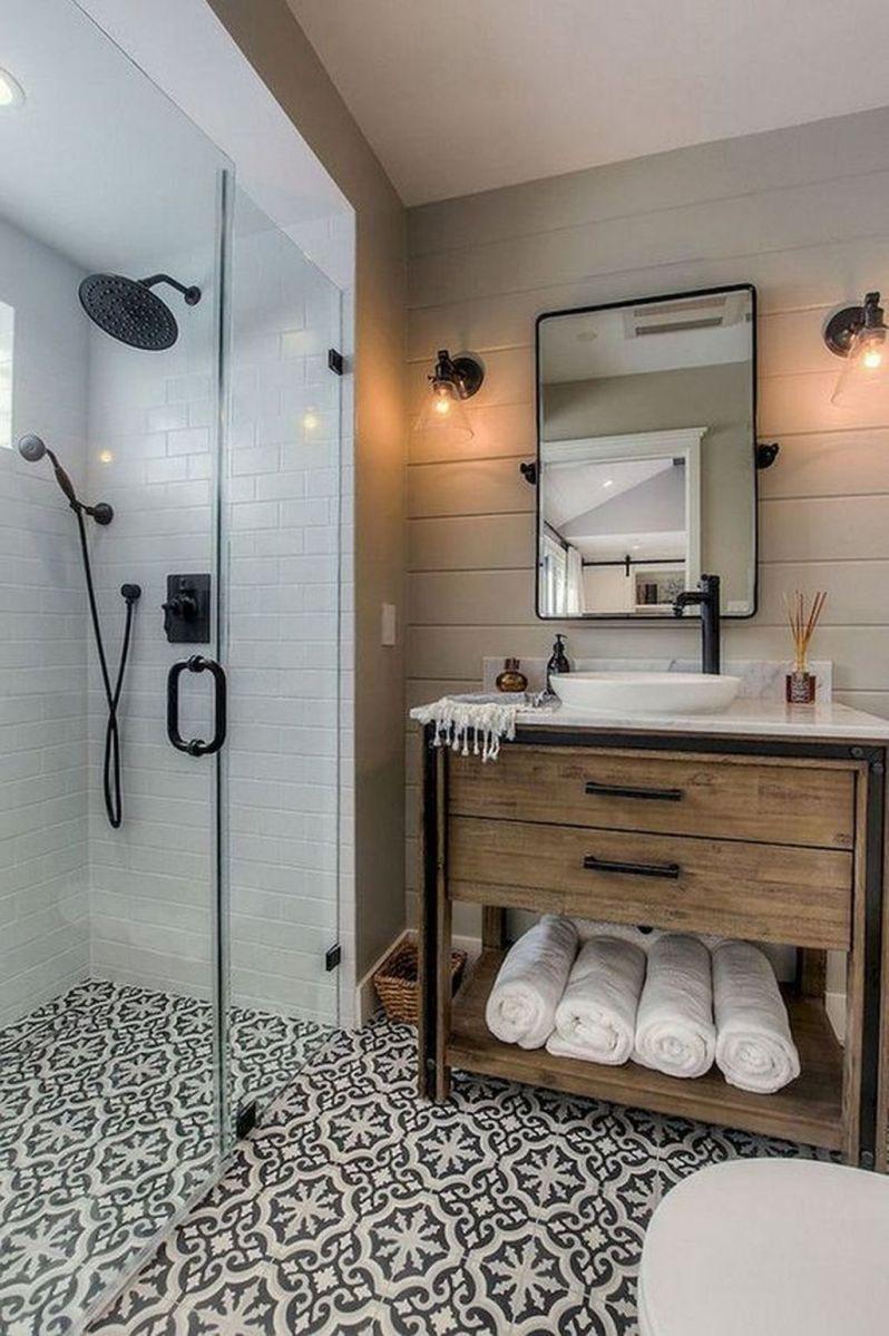Admirable Rustic Modern Bathroom Design And Decor Ideas 28