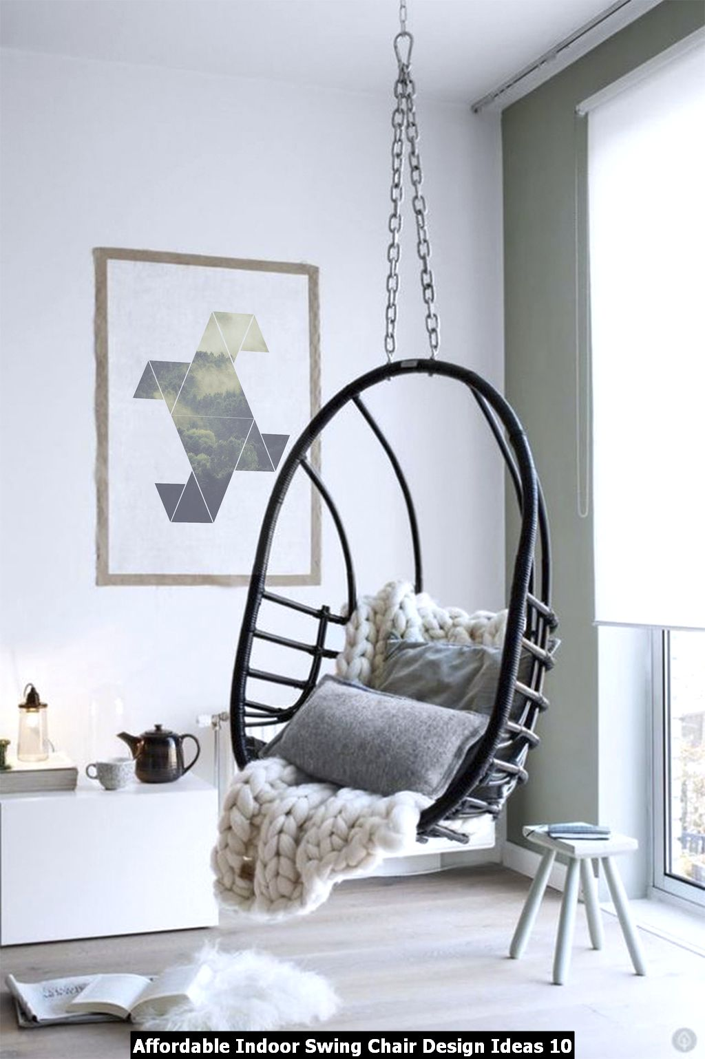 Affordable Indoor Swing Chair Design Ideas 10