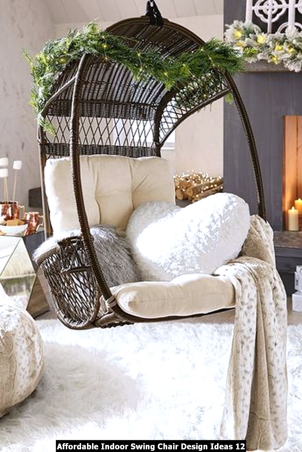 Affordable Indoor Swing Chair Design Ideas 12