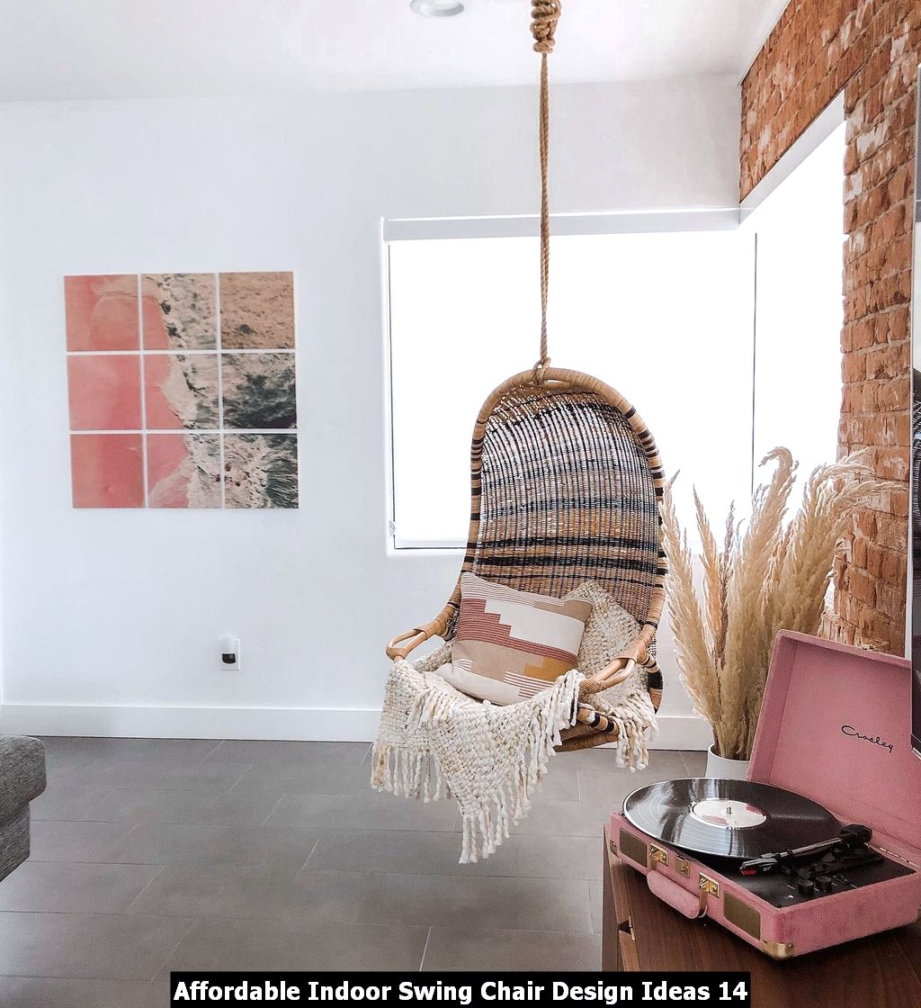 Affordable Indoor Swing Chair Design Ideas 14