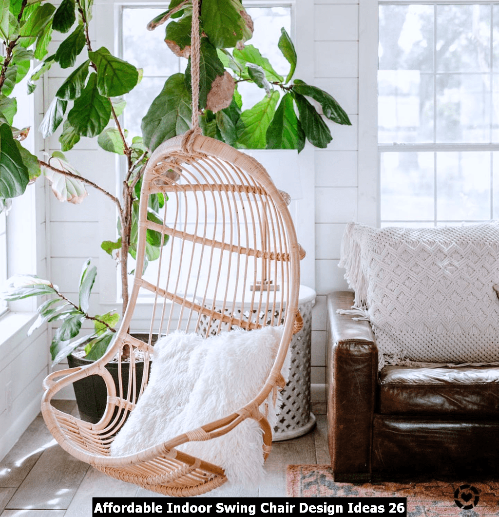 Affordable Indoor Swing Chair Design Ideas 26