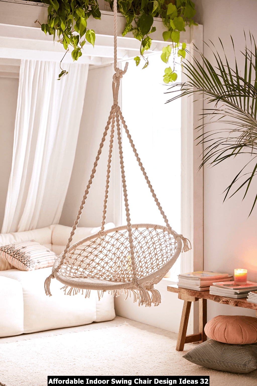 Affordable Indoor Swing Chair Design Ideas 32