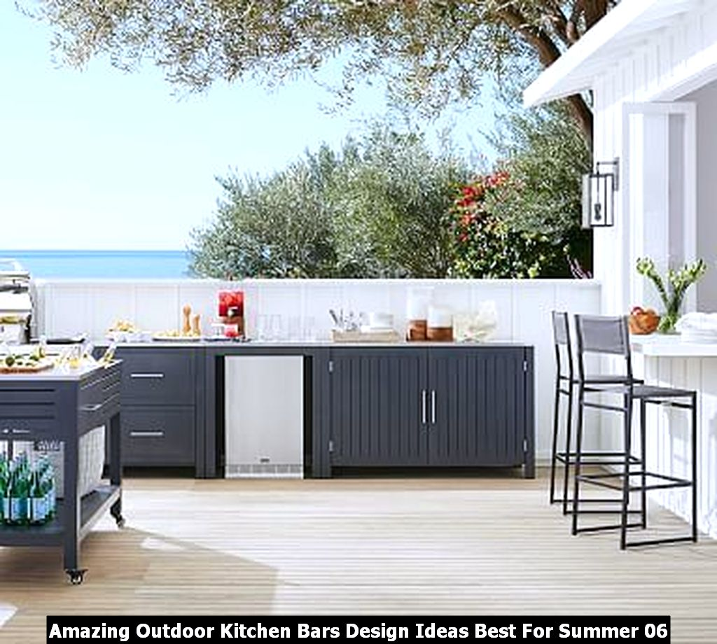 Amazing Outdoor Kitchen Bars Design Ideas Best For Summer 06